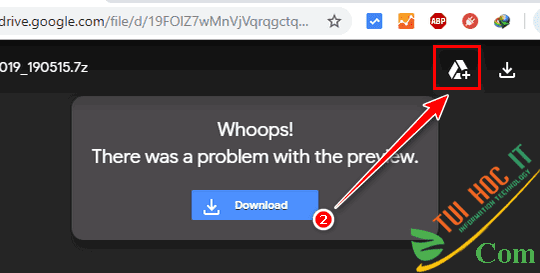 Cách Tải File Trên Google Drive Giới Hạn Tải Trong 24h 15
