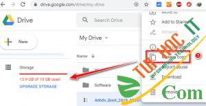 Cách Tải File Trên Google Drive Giới Hạn Tải Trong 24h 20