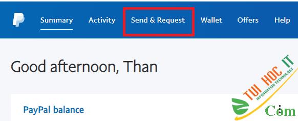 Cách chuyển tiền trên PayPal không mất phí 10