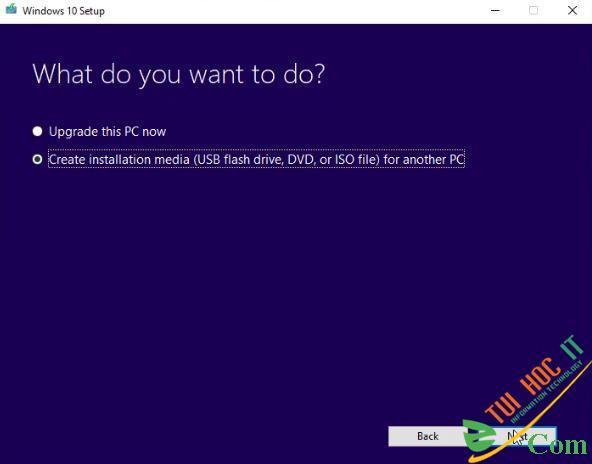 Hướng dẫn tải bộ cài Windows 10 bản gốc Microsoft 3