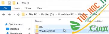 Hướng dẫn cách cài lại Windows 10 từ ổ cứng chi tiết 1