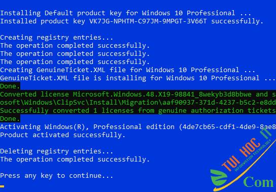 Cách Active Windows 10 kích hoạt bản quyền số vĩnh viễn 27