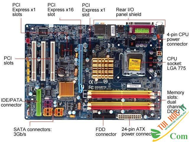 Bo mạch chủ, mainboard máy tính là gì 1