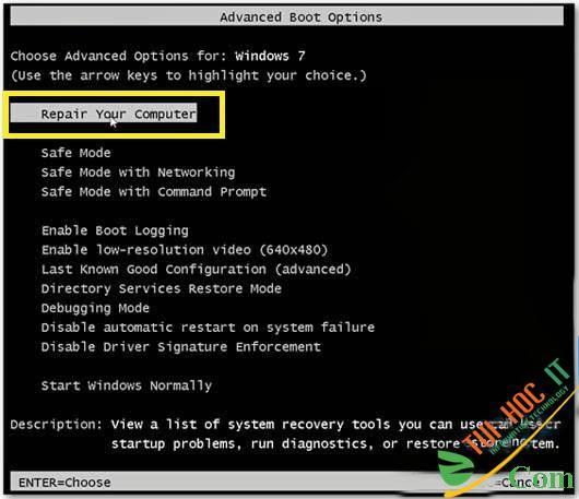 Hướng Dẫn Cài Windows 10, 7, 8 Từ Ổ Cứng Không Cần USB, CD 24