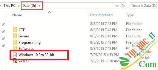 Hướng Dẫn Cài Windows 10, 7, 8 Từ Ổ Cứng Không Cần USB, CD 20