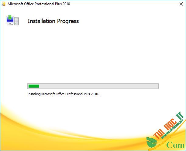 Cài Đặt Office 2010-B4