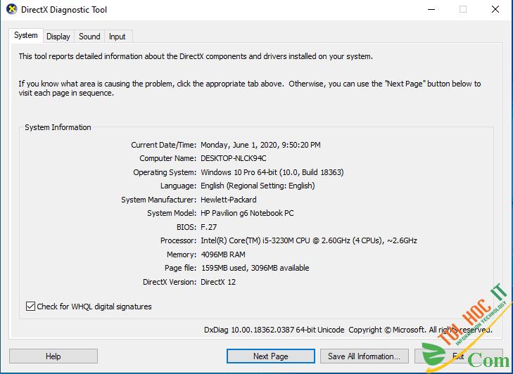 Hướng Dẫn Chi Tiết Cách Update BIOS Cho Mọi Laptop 6
