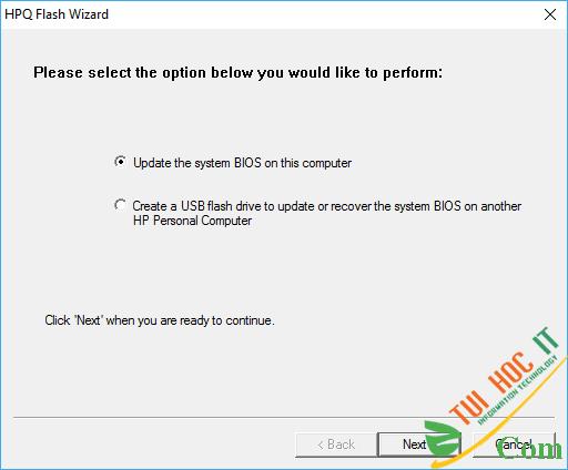 Hướng Dẫn Chi Tiết Cách Update BIOS Cho Mọi Laptop 8