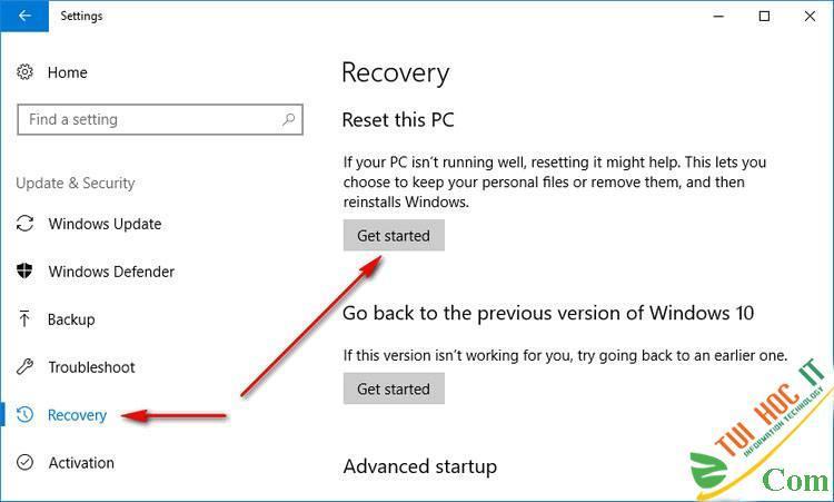 Hướng Dẫn Cách Reset Windows 10 Không Mất Dữ Liệu (Reset Win 10) 13