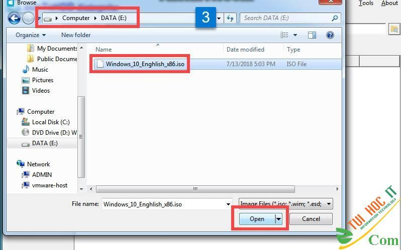 Cách Cài Win 10/8/7/Windows Server Từ Ổ Cứng Bằng WinToHDD 15