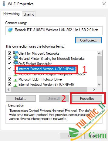 Khắc phục lỗi Wifi báo No Internet, Secured trên Windows 10 2004 5