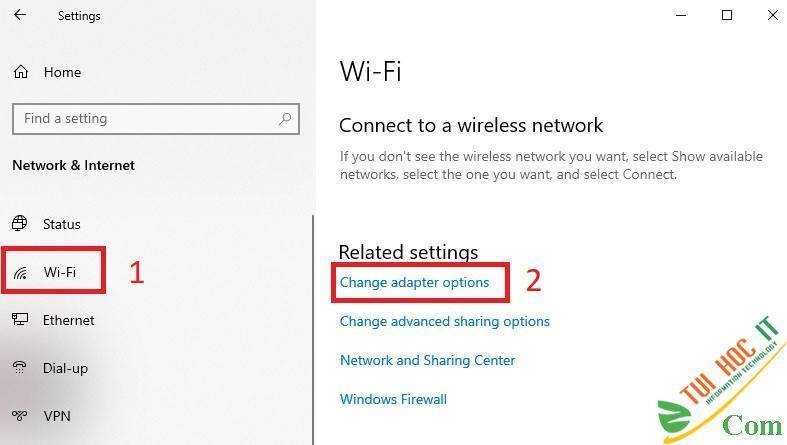 Khắc phục lỗi Wifi báo No Internet, Secured trên Windows 10 2004 10