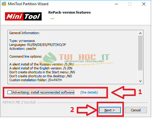 MiniTool Partition Wizard Enterprise 12.5.1 Full Repack Vĩnh Viễn 13