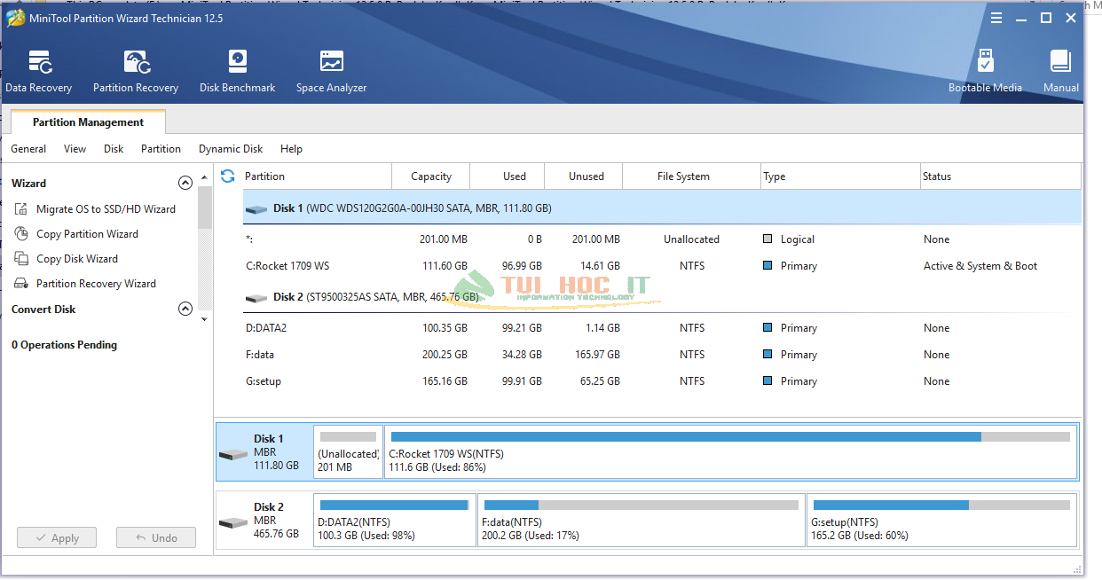 MiniTool Partition Wizard Enterprise 12.5.1 Full Repack Vĩnh Viễn 15