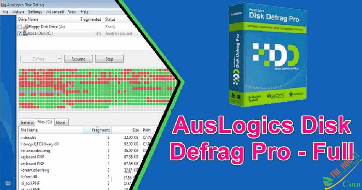 Auslogics Disk Defrag Ultimate 4.12.0.1 2021 full miễn phí vĩnh viễn 2