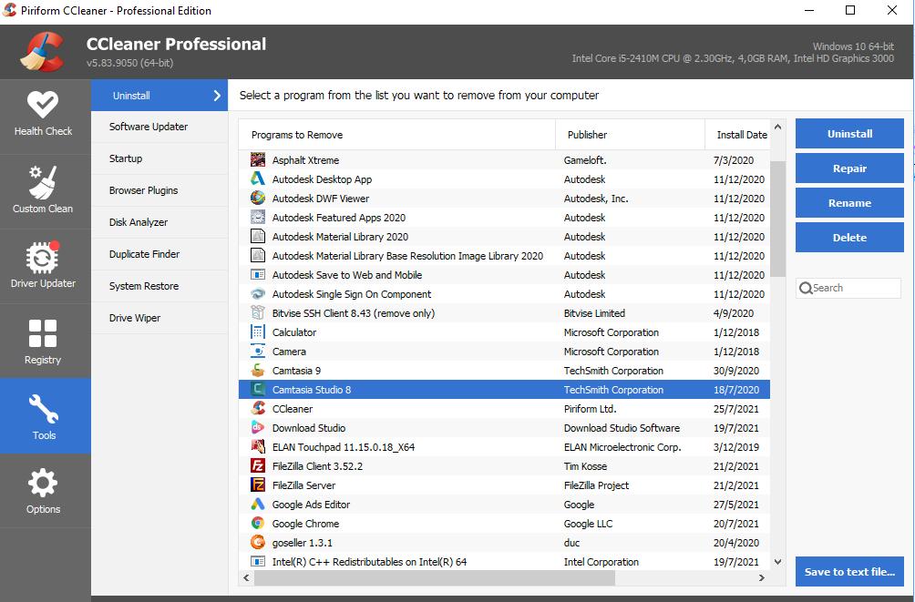 Tải Key CCleaner Pro Full 2021 V5.85 Repack Vĩnh Viễn 100% 10