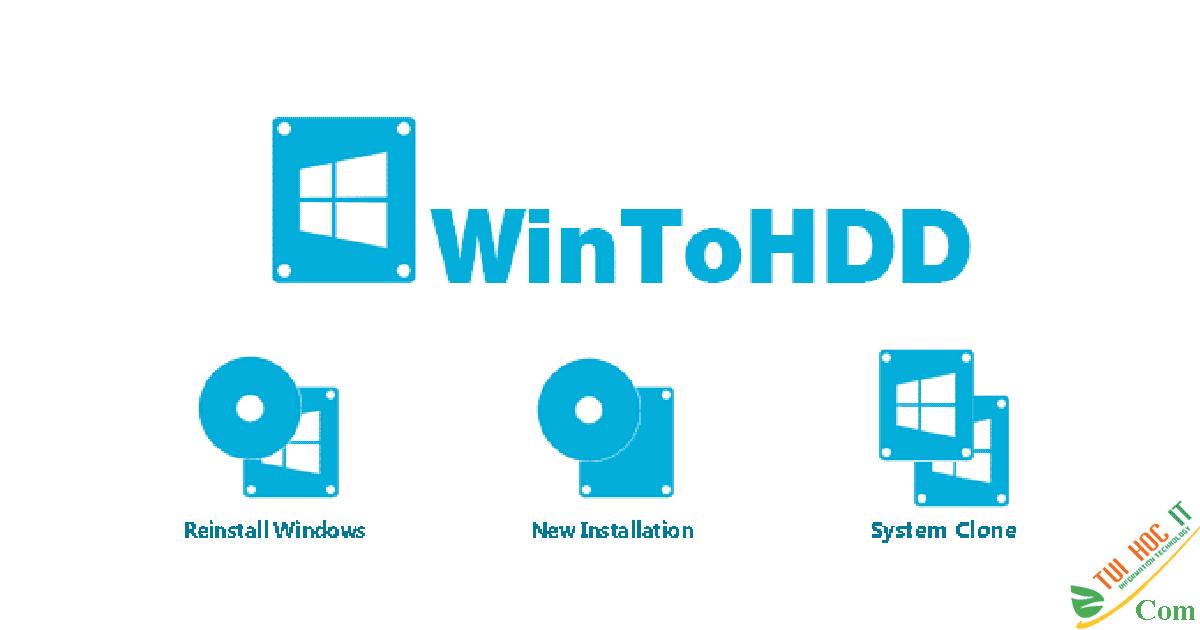 Tải WinToHDD 4.4 Technician Full Repack Cờ Rách Mới Nhất 2020 2