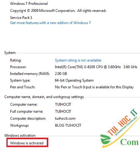 Cách Active Windows 7 kích hoạt bản quyền bằng CMD vĩnh viễn 17