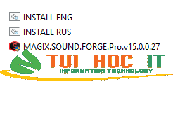 Download MAGIX SOUND FORGE Pro 15 Full Vĩnh Viễn 2021 15