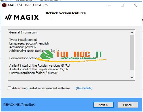Download MAGIX SOUND FORGE Pro 15 Full Vĩnh Viễn 2021 17