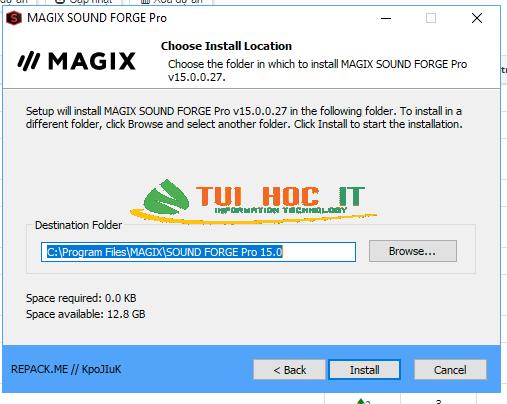 Download MAGIX SOUND FORGE Pro 15 Full Vĩnh Viễn 2021 19
