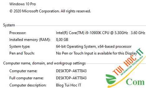 Hướng dẫn cách fake cấu hình CPU máy tính để khoe 10