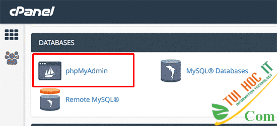 Cách reset mật khẩu Admin WordPress qua phpMyAdmin 10
