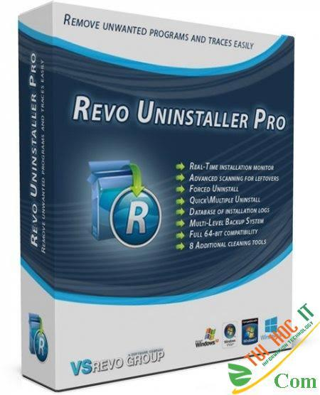 Download Revo Uninstaller Pro 4.3.3 + Portable Full miễn phí 1