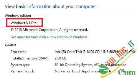 Cách Active Windows 8/8.1 Kích Hoạt Bản Quyền bằng CMD Vĩnh Viễn 4