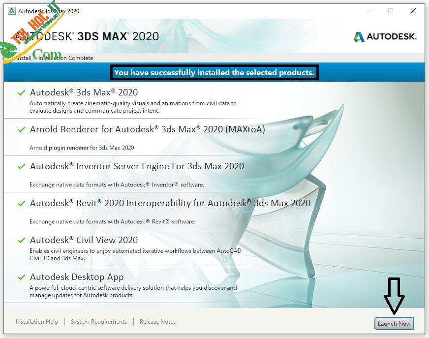 Tải 3DS Max 2020 Full Vĩnh Viễn 100%- Hướng Dẫn Cài Đặt Chi Tiết 32