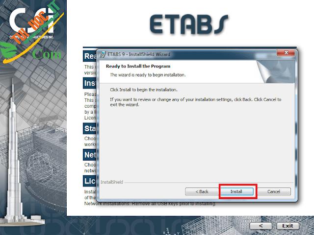 Tải Etabs 9.7.4 Full Cr@Ck Thành Công 100% - Đã Test 10