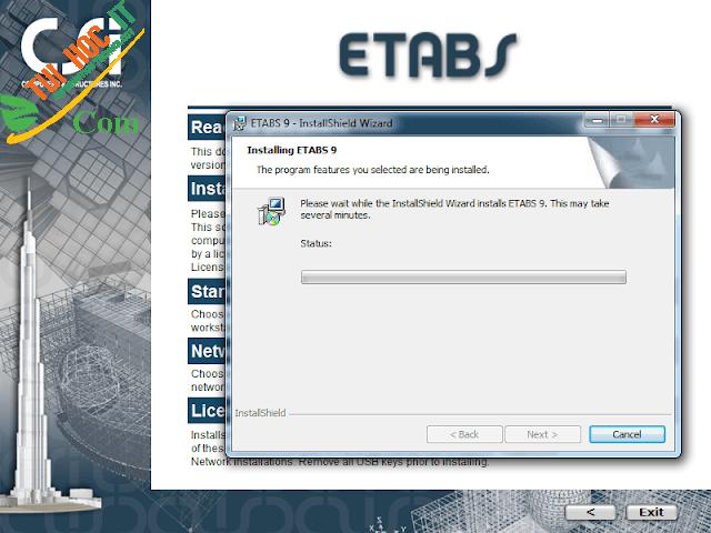 Tải Etabs 9.7.4 Full Cr@Ck Thành Công 100% - Đã Test 11