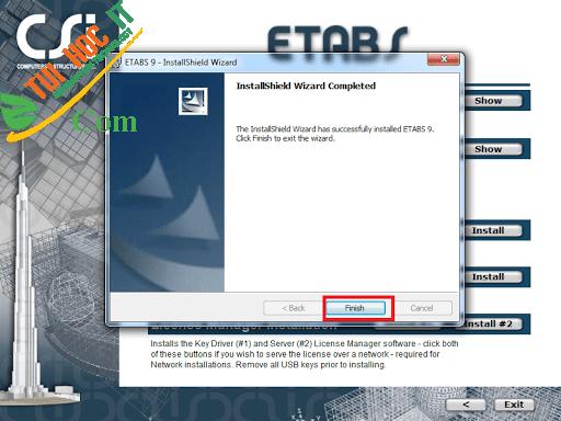 Tải Etabs 9.7.4 Full Cr@Ck Thành Công 100% - Đã Test 12