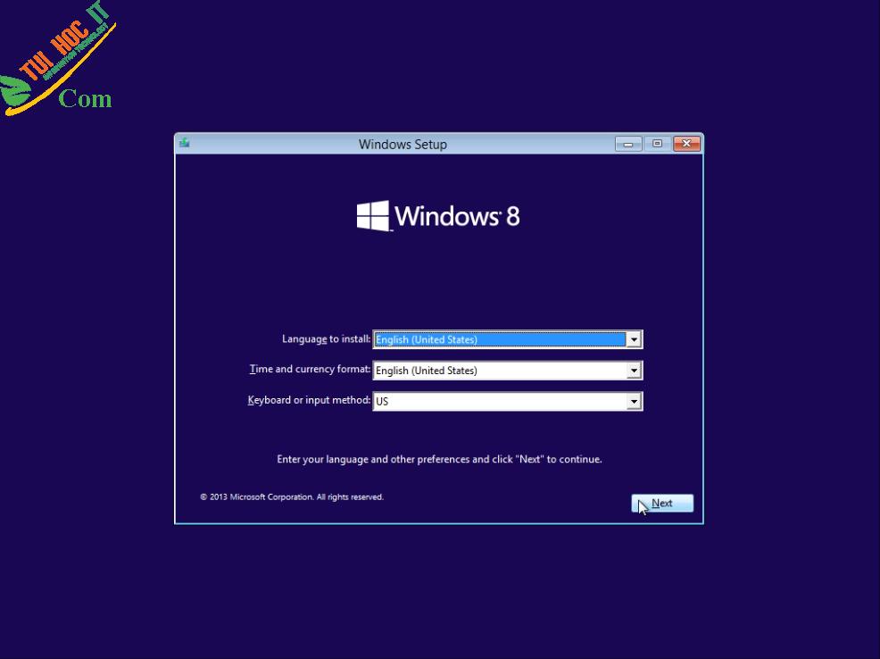 10+ Cách Cài Windows 8.1.ISO Bằng USB Chi Tiết Từng Bước 24