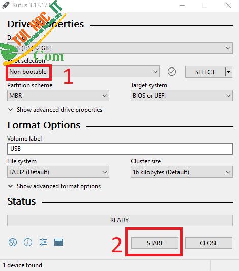 10+ Cách Sửa Lỗi USB Bị Mất Dung Lượng - Test 100% Thành Công 5