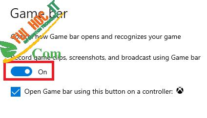 Cách tắt (hoặc bật) Xbox Game Bar trên Windows 10 6
