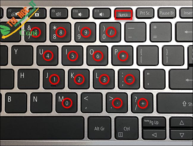 Nguồn gốc của bàn phím số trên PC có từ bao giờ? 8