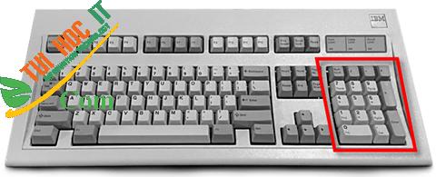 Nguồn gốc của bàn phím số trên PC có từ bao giờ? 7