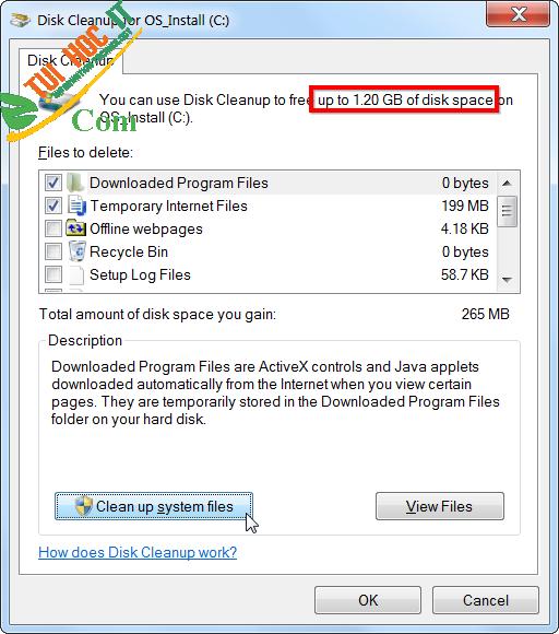 Hướng dẫn cách giải phóng dung lượng ổ cứng trên Windows 3