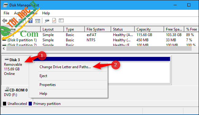 Hướng dẫn tối ưu bộ nhớ USB để có hiệu suất cao trên Windows 10 7