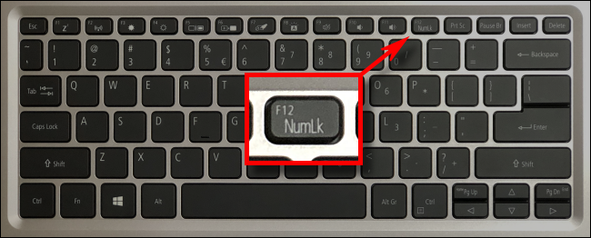 Cách sửa bàn phím gõ số thay vì chữ cái 6