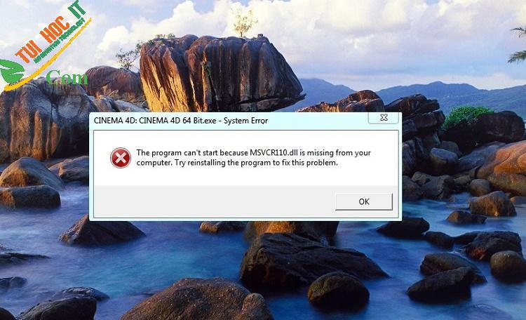 10+ Cách sửa lỗi msvcr100.dll hiệu quả, nhanh chóng nhất 11