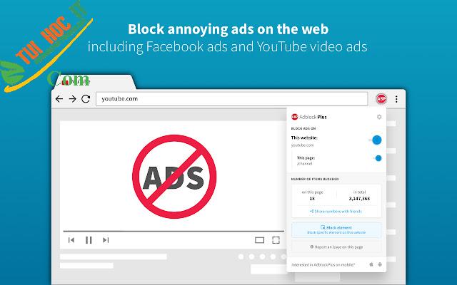 Top 10 phần mềm chặn quảng cáo được sử dụng nhiều nhất hiện nay 11