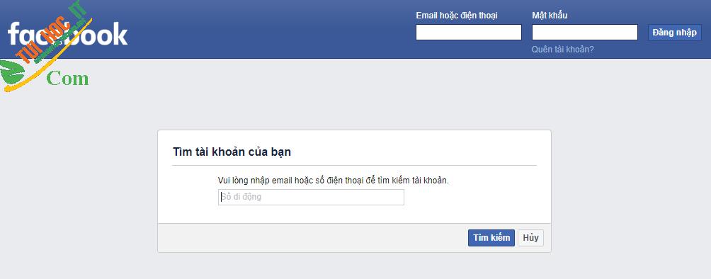 Cách lấy lại tài khoản Facebook bị vô hiệu hóa nhanh chóng, thành công 3