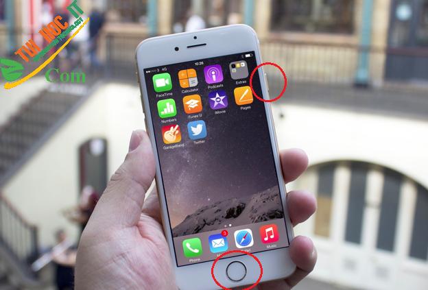 [Mẹo hay] Hướng dẫn cách chụp màn hình Iphone không nên bỏ qua 4