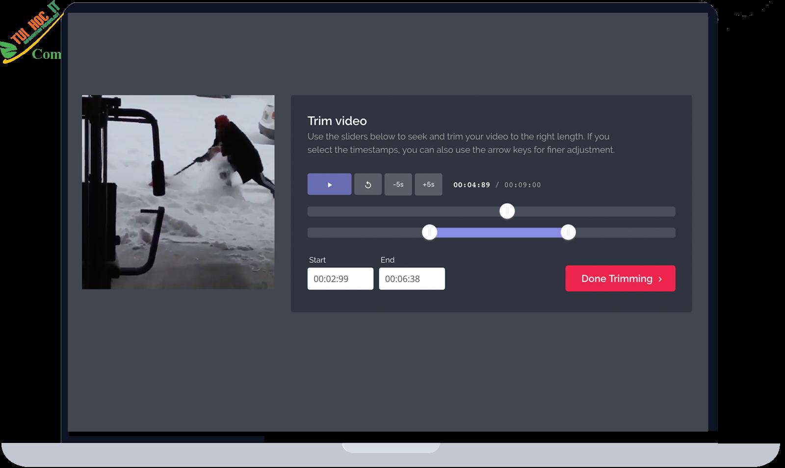 Top 10 trang web edit video online đơn giản dễ sử dụng 12