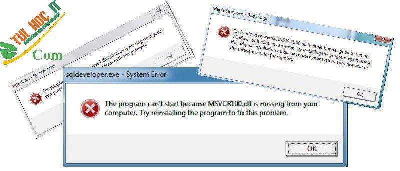 10+ Cách sửa lỗi msvcr100.dll hiệu quả, nhanh chóng nhất 13