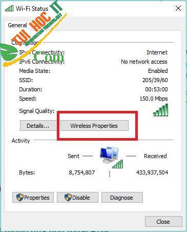 Cách xem pass wifi win 10 đơn giản, nhanh chóng cho mọi người dùng 14
