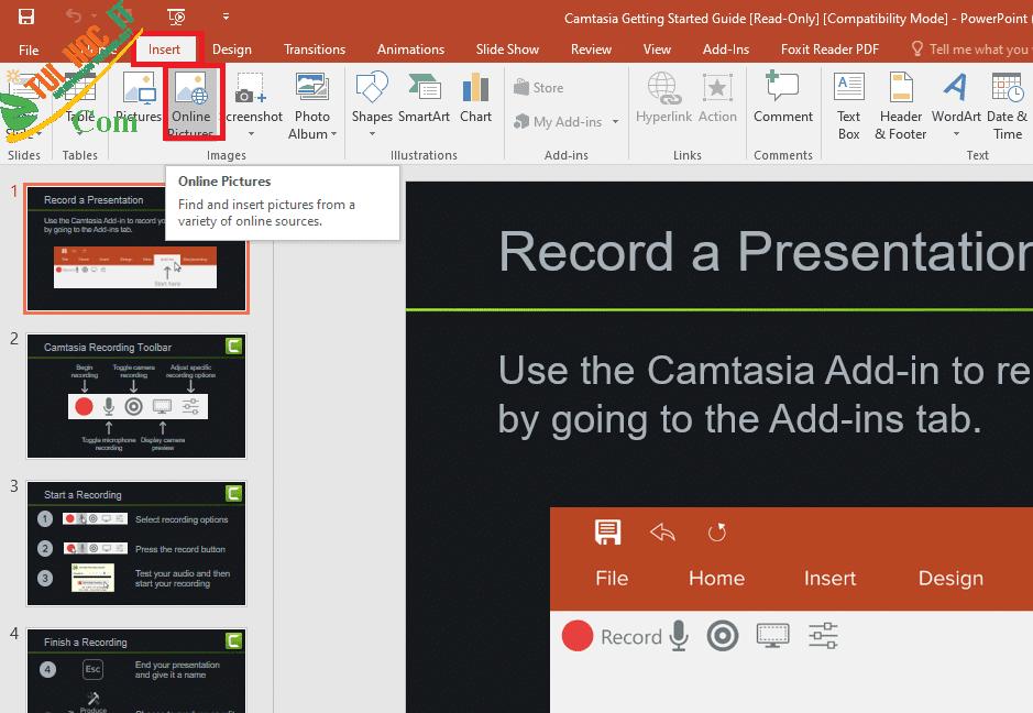 Cách chèn ảnh động powerpoint cực dễ dàng 100% thành công 8