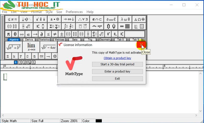 Tải MathType 6.9/7.3 và 7.4.4 Full Vĩnh Viễn Miễn Phí 100% 25